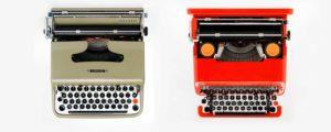 olivetti macchine da scrivere