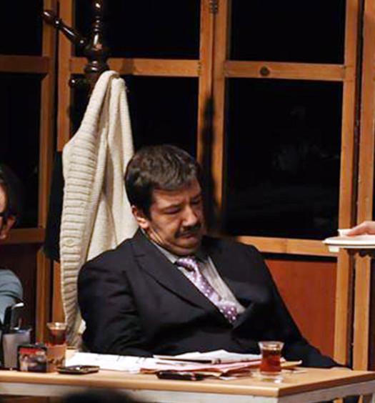 Burcu Tokuç sul palcoscenico