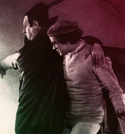 """Dettaglio di un fotogramma del """"Faust"""" di Friedrich Wilhelm Murnau"""