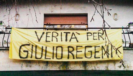 Giulio Regeni, a Roma una manifestazione per chiedere la verità