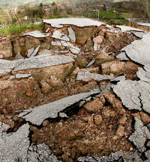 Effetti del Terremoto dell'Emilia del 2014 (foto Marco Carlo Stoppato)