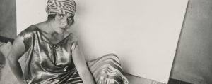 Rodchenko Alexander, Lilya Brik in Golden Dress, 1924.