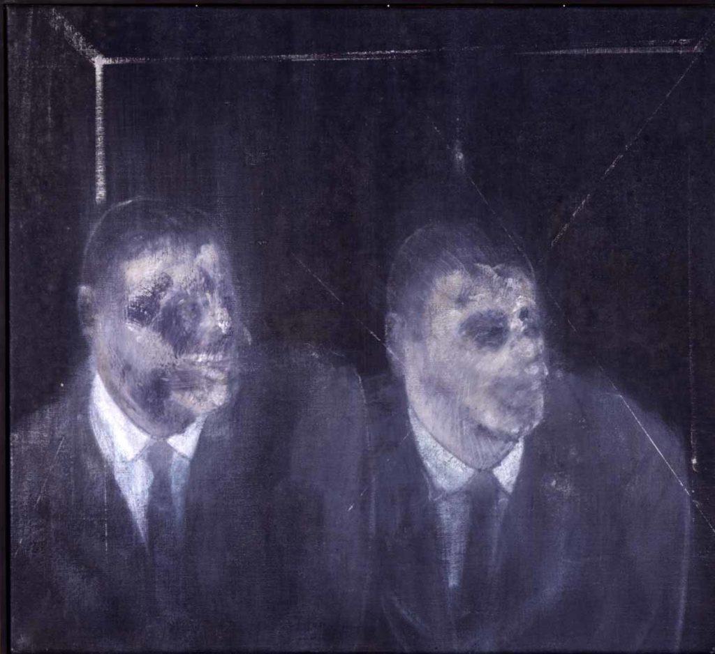 Francis Bacon, Two Americans (1954, olio su tela - foto di Adriana Ferrari, Milano)