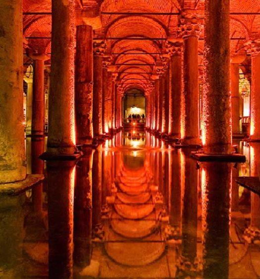 La Cisterna Basilica di Istanbul