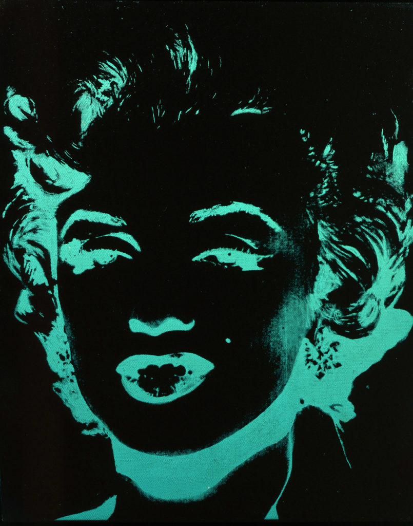 Andy Warhol, Marylin, (1979 - 1986, acrilico su tela. © The Andy Warhol Foundation for the Visual Arts Inc., by SIAE 2018)