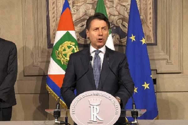 Giuseppe Conte incaricato premier