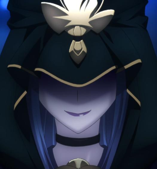 """Medea come viene rappresentata nell'anime """"Fate/Stay Night"""""""