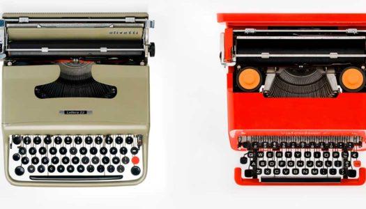 Olivetti, reinventi la macchina da scrivere