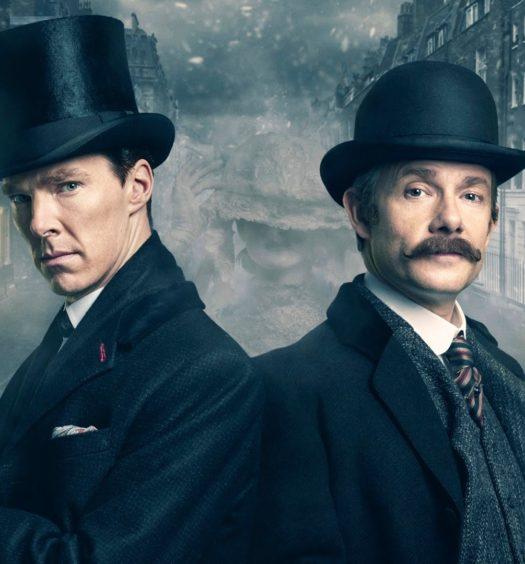 Sherlock Holmes e il dottor Watson due dei più famosi personaggi letterari di tutti i tempi