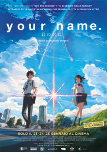 """Your Name"", la locandina del film di Shinkai"