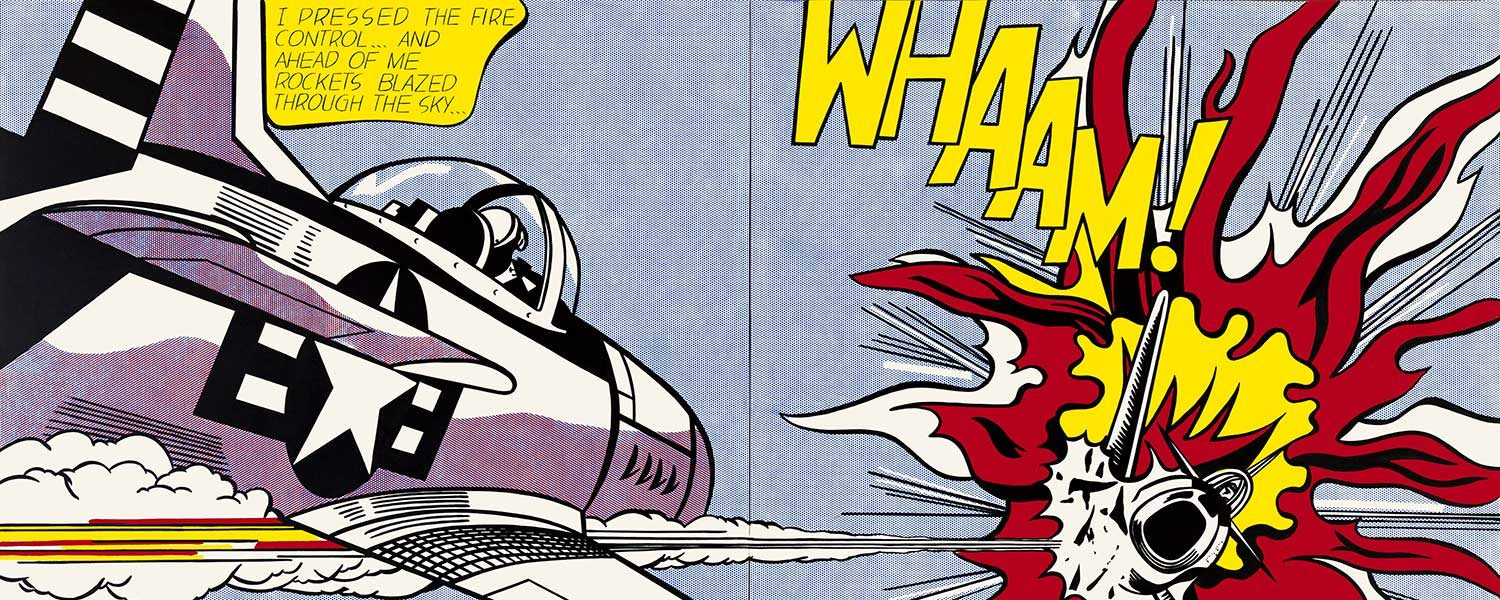 Roy Lichtenstein, Whaam! (1963)