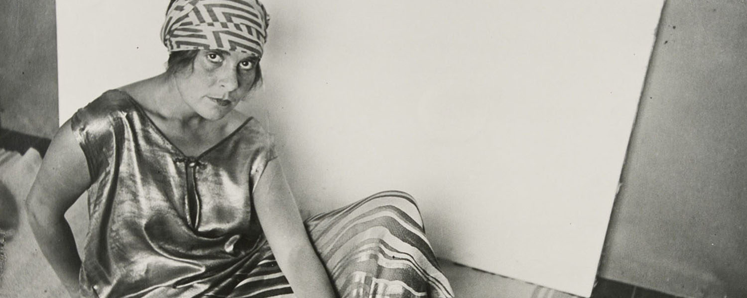 Rodchenko Alexander, Lilya Brik in Golden Dress, 1924.