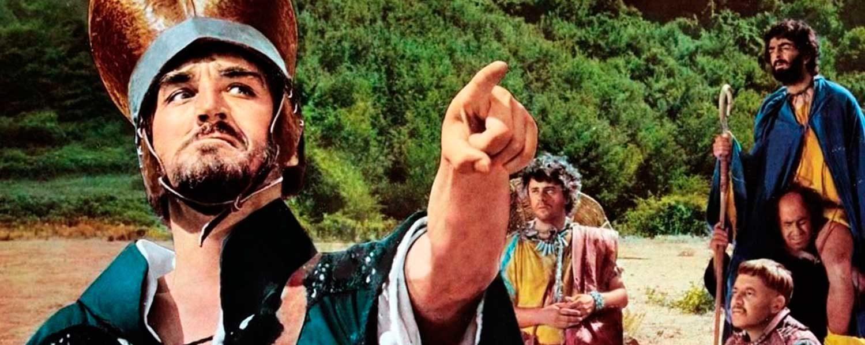"""Un fotogramma di """"Brancaleone alle crociate"""" di Mario Monicelli"""