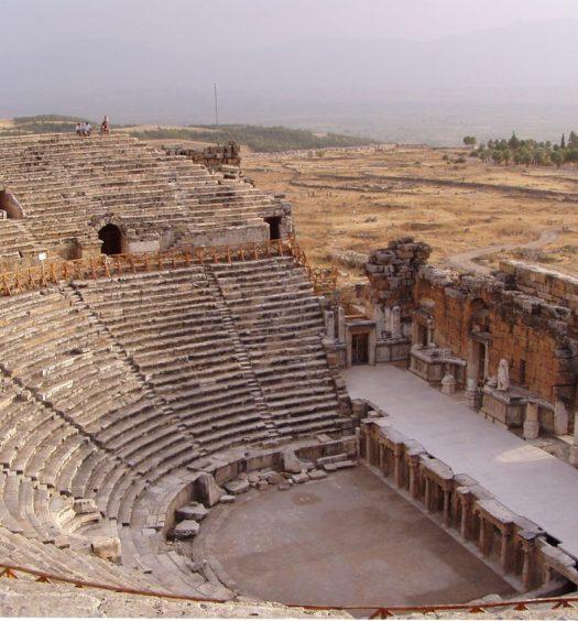 Il teatro di Hierapolis