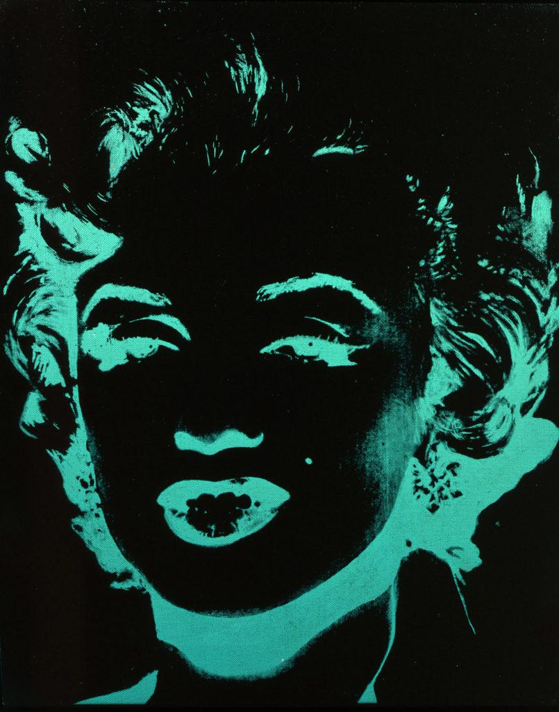 Andy Warhol, Marylin, (1979 - 1986, acrilico su tela. © The Andy Warhol Foundation for the Visual Arts Inc., by SIAE 2018)