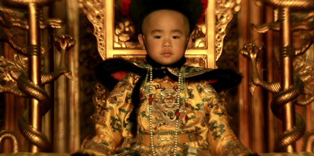 """Una scena de """"L'ultimo imperatore"""""""