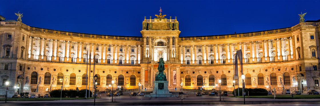 La Hofburg è l'ex residenza imperiale a Vienna