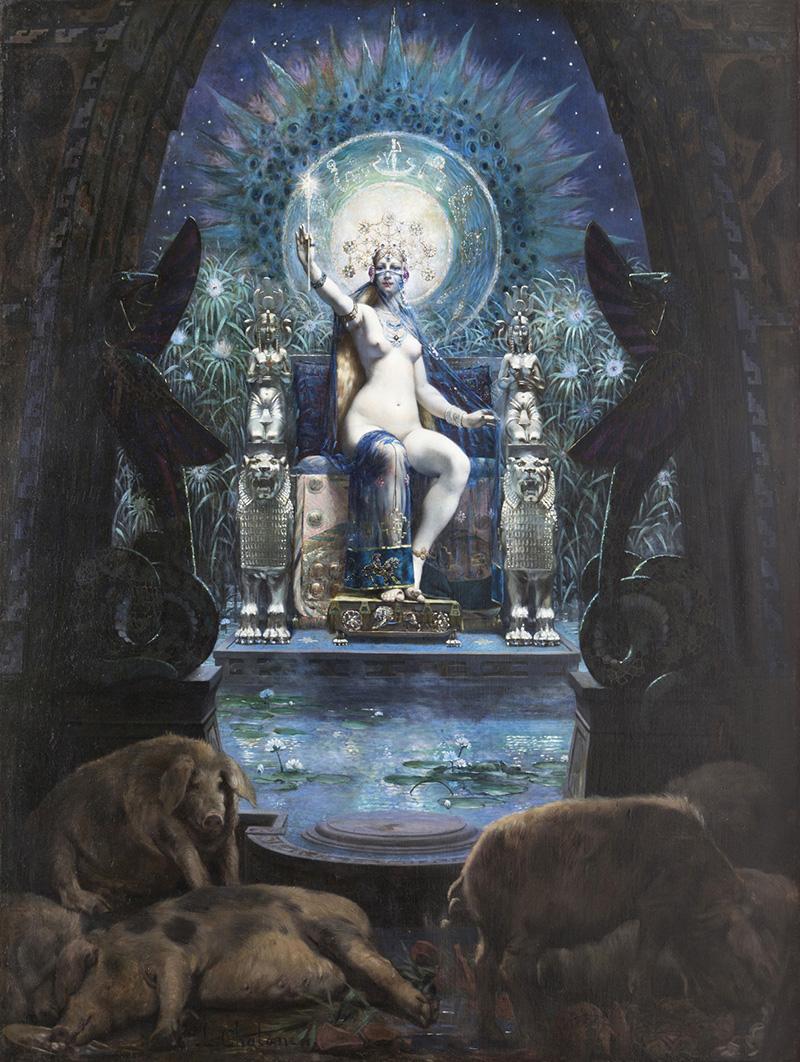 Louis Chalon, Circe, collezione privata