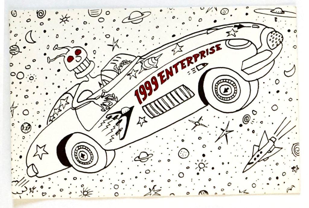 Gruppo Alchimia: Cartolina Promozionale per la 1999 Enterprise