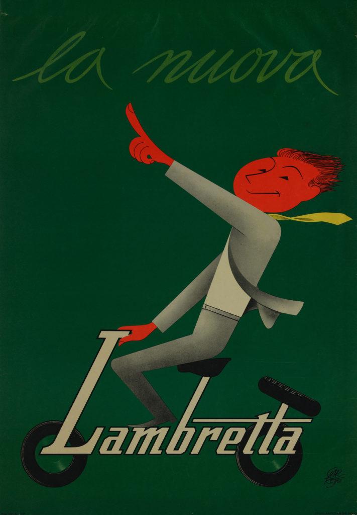 Paolo Federico Garretto, La nuova Lambretta, 1950-1955