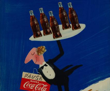 Herbert Leupin, Pause buvez Coca-Cola, 1950-1962