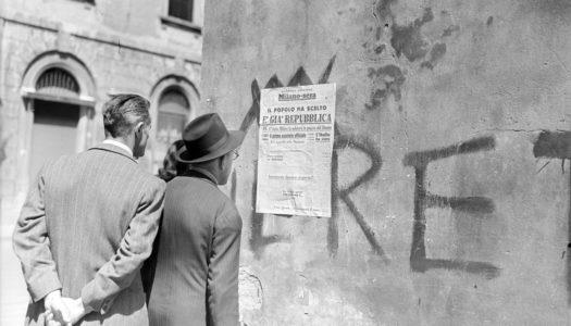 """""""Nel mirino"""", l'Italia e il mondo nell'archivio Publifoto"""