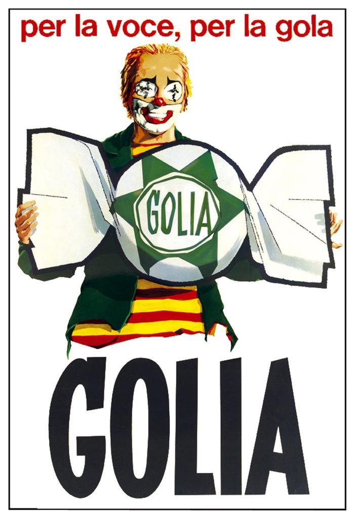 Gianni Venturino, Golia, circa 1965, offset, 140 x 100 cm. Collezione Galleria L'IMAGE, Alassio (SV)