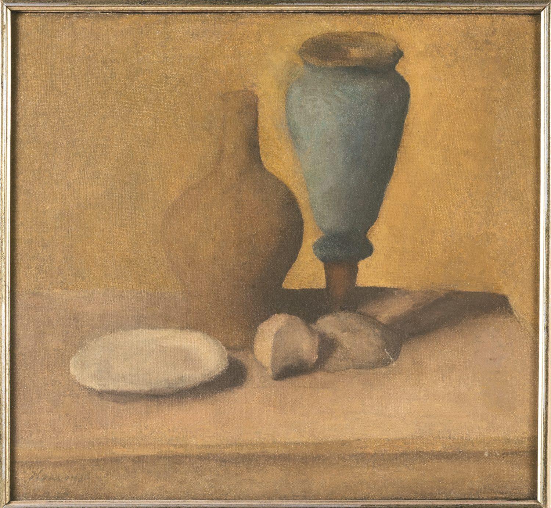 Giorgio Morandi Natura Morta 1921 Olio su tela 36 x 41 cm Collezione Giorgio Pulazza